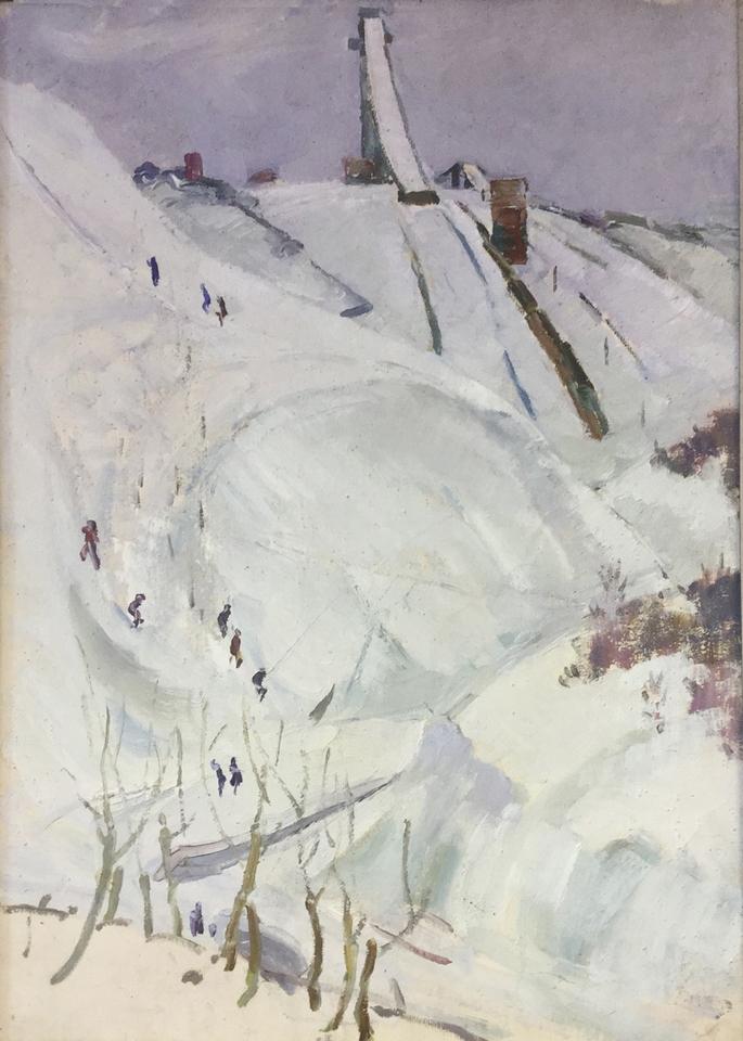 И.И. Осипов, 1962 год. Холст, масло